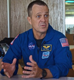 "Astronaut Ricky Arnold told the #spacED group: ""Going to space is fantastic — I highly recommend it."""