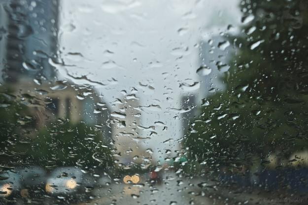 Raindrops watermark