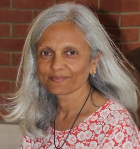 """Photo courtesy of Uma Krishnaswami In """"Bright Sky, Starry City,"""" author Uma Krishnaswami builds a narrative bridge strong enough to support the delicate relationships between heaven and Earth."""