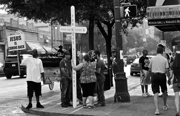 Sixth Street preaching